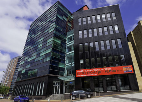 Rented Office Space in Digital World Centre Salford